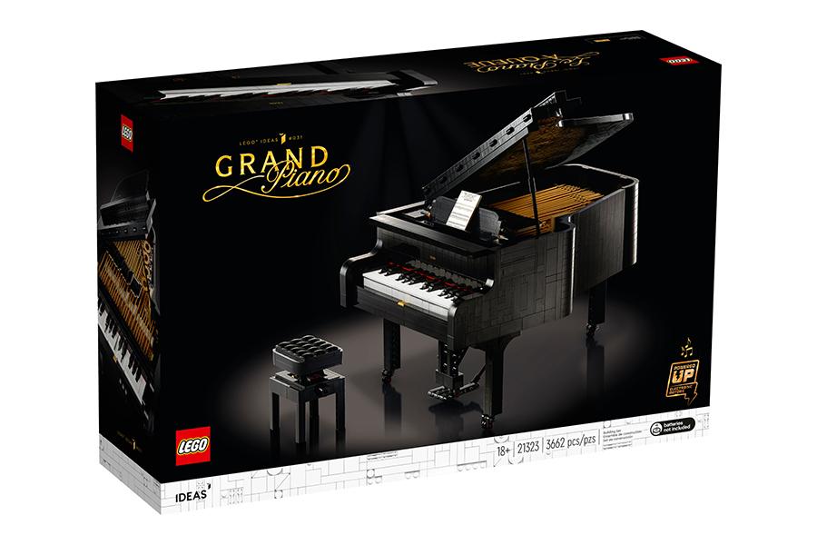 LEGO Ideas Grand Piano 6