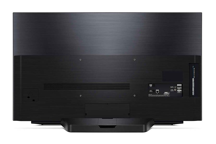 LG 48-inch CX 4K OLED TV back view