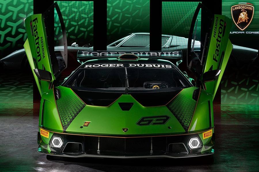 Lamborghini Essenza SCV12 both side door open