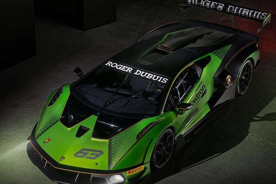 Lamborghini Essenza SCV12 top view