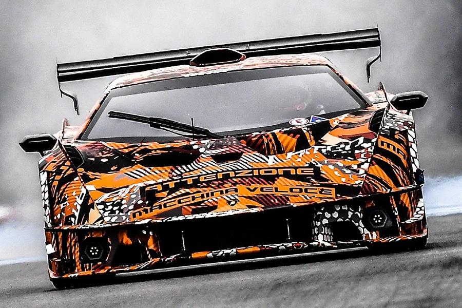 Lamborghini SCV12 front