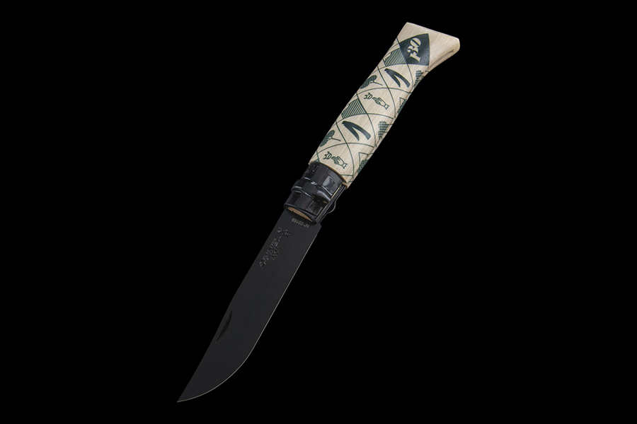 Opinel 130th Anniversary No.08 Folding Knife top view