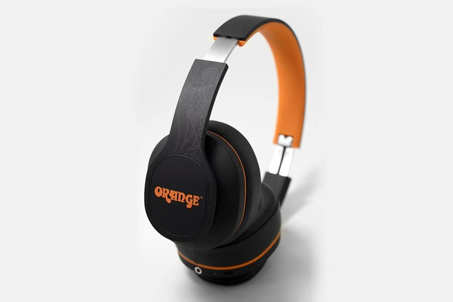 Orange Crest wireless Headphones