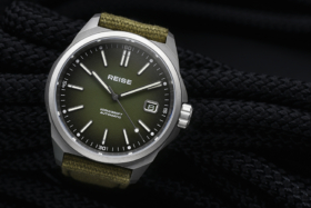 Reise Resolute Oliver Dial and strap watch