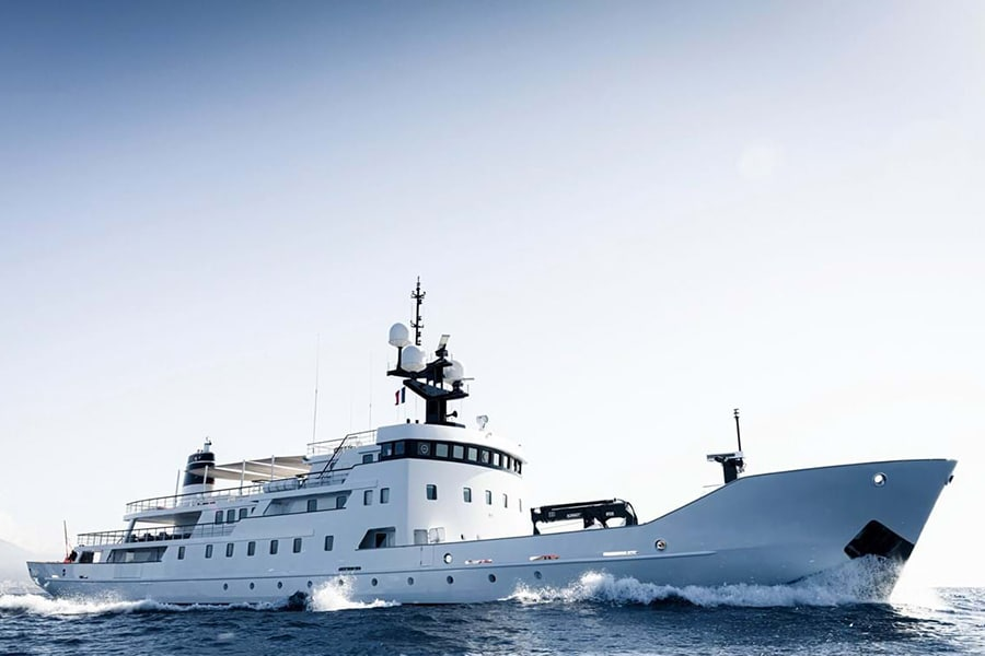 Russian Navy Ship converted to Superyacht