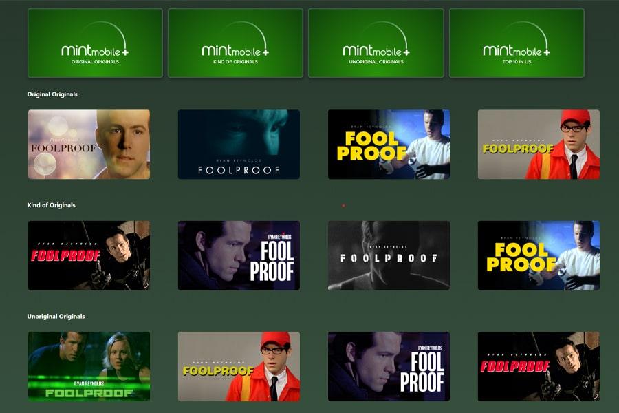 Ryan Reynolds streaming service 1
