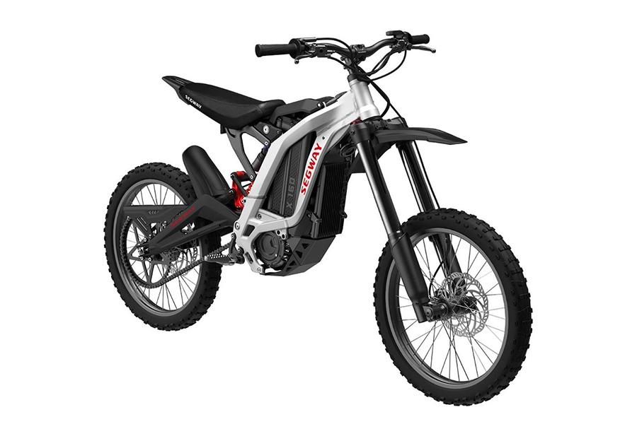 Segway Dirt E Bike side view