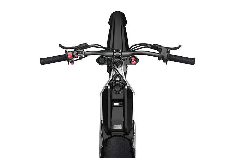 Segway Dirt E Bike top view