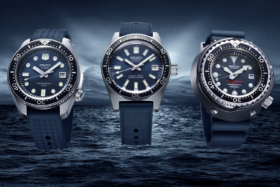 Seiko Diver's 55th Anniversary Trilogy watches