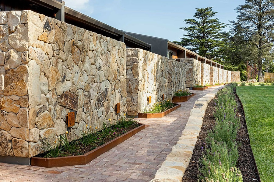 Sequoia Luxury Lodge walkway
