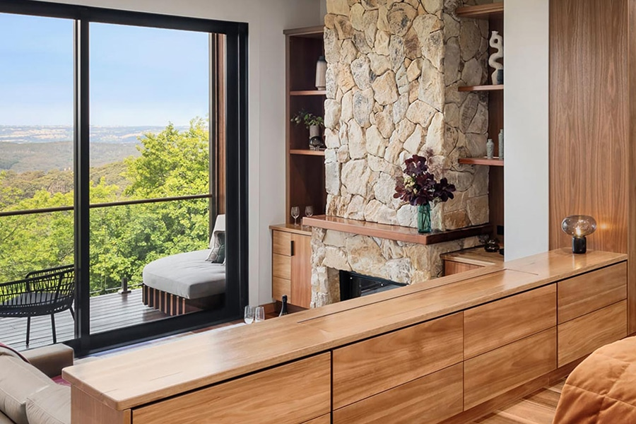 Sequoia Luxury Lodge drawers and cabinets