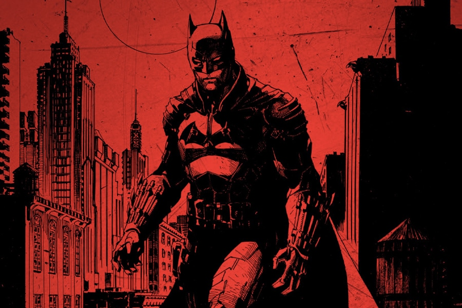 The Batman logo 1