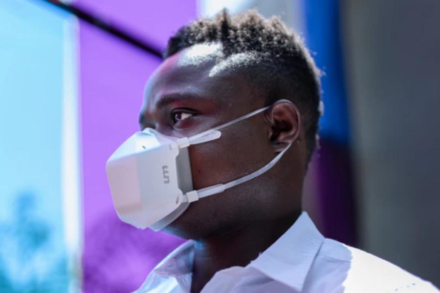 UVMask air purifying face mask