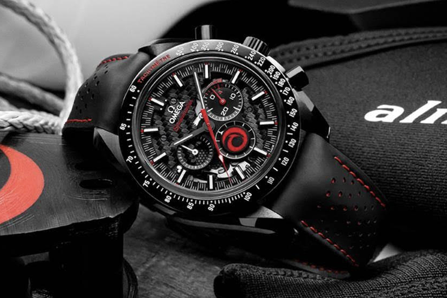 Omega Speedmaster Dark Side Of The Moon 'Alinghi' watch