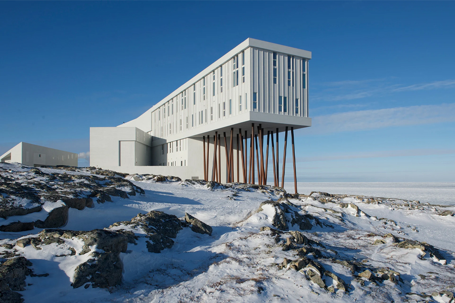 World's Best Hotels 2020 - Fogo Island Inn, Newfoundland, Canada