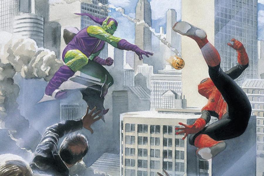 marvels graphic novel cover