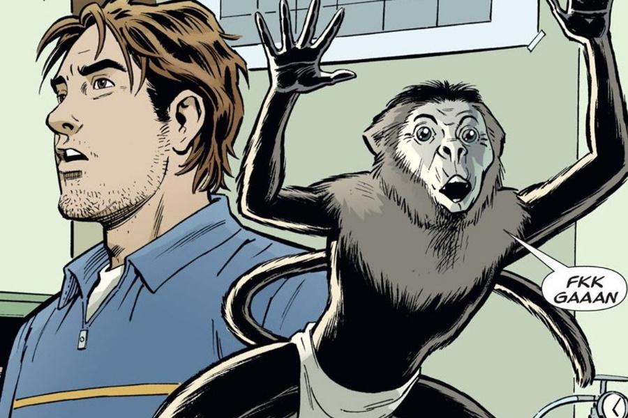 y the last man comic panel