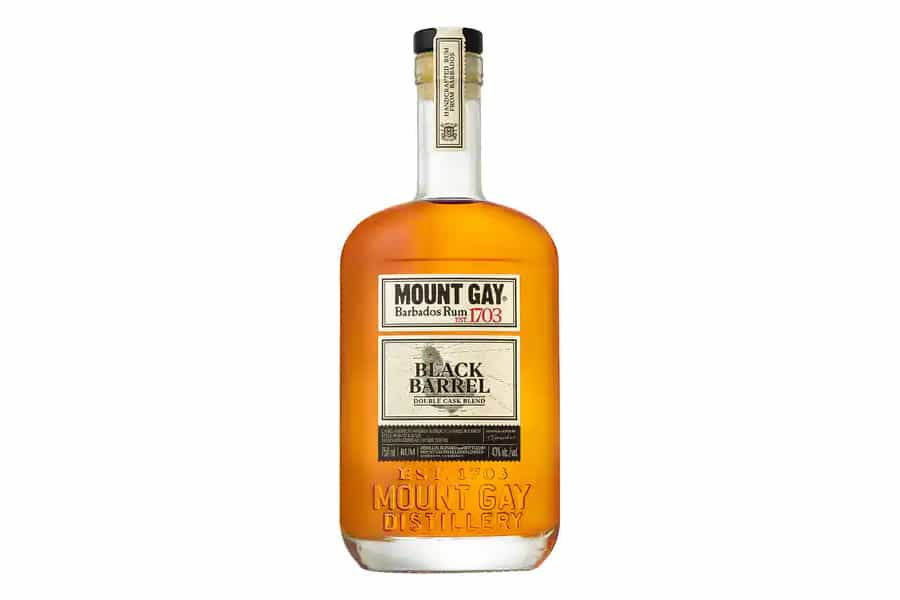 best rum for dark and stormy - Mount Gay Rum Black Barrel