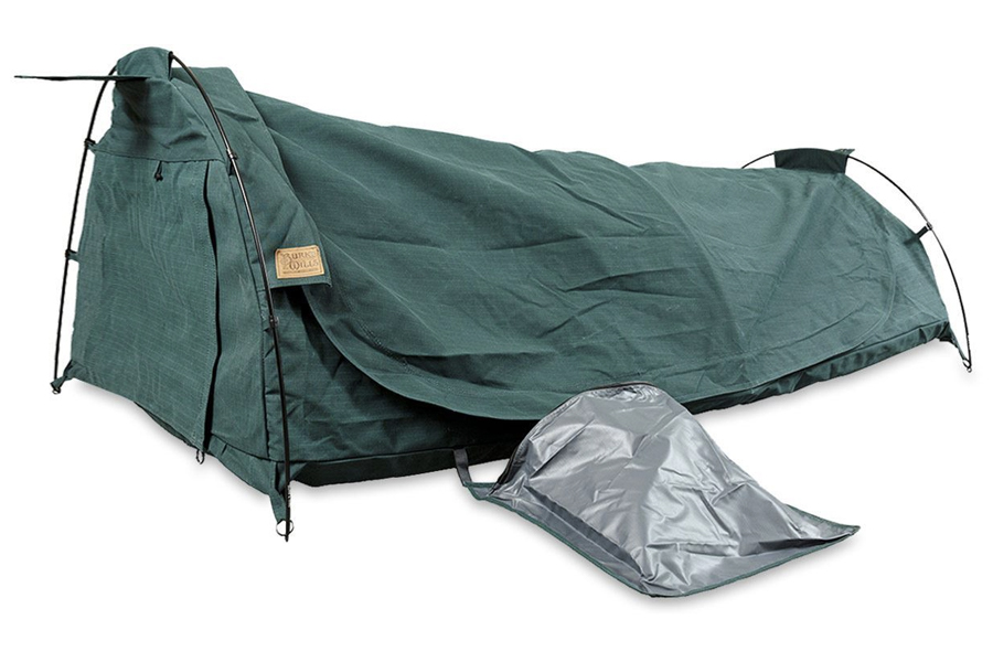 best swag tent for camping - Burke & Wills Redgum