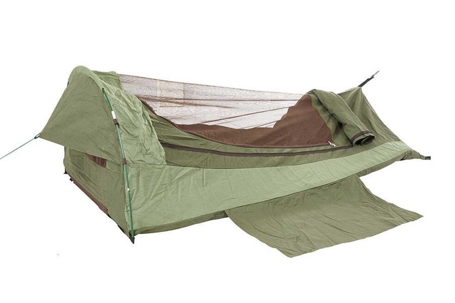 best swag tent for camping - Jolly Swagman Burdekin Dome Swag Double