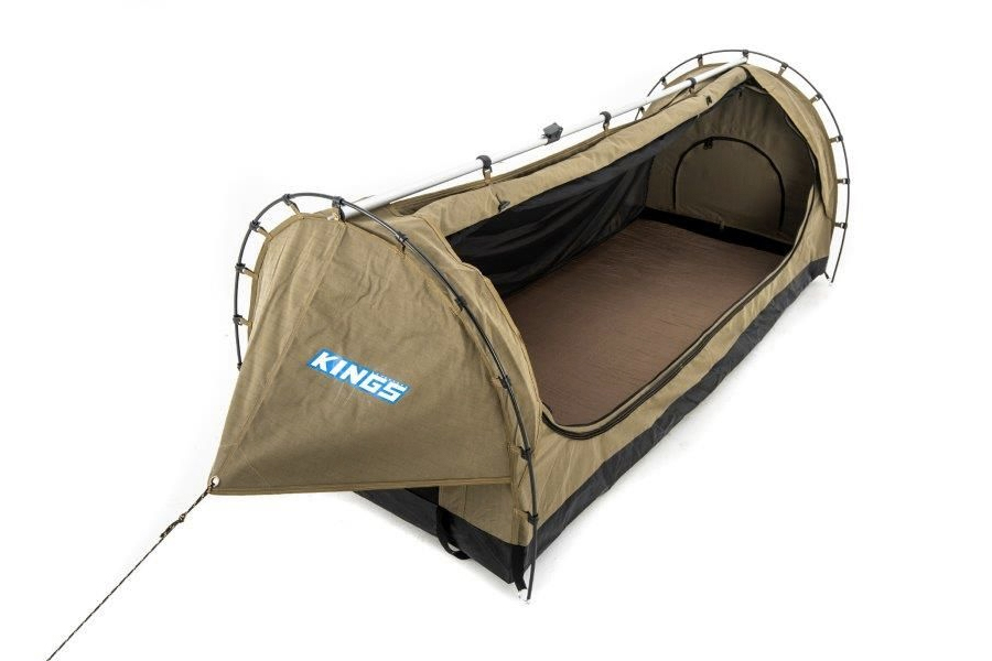 best swag tent for camping - Kings Deluxe Single Swag