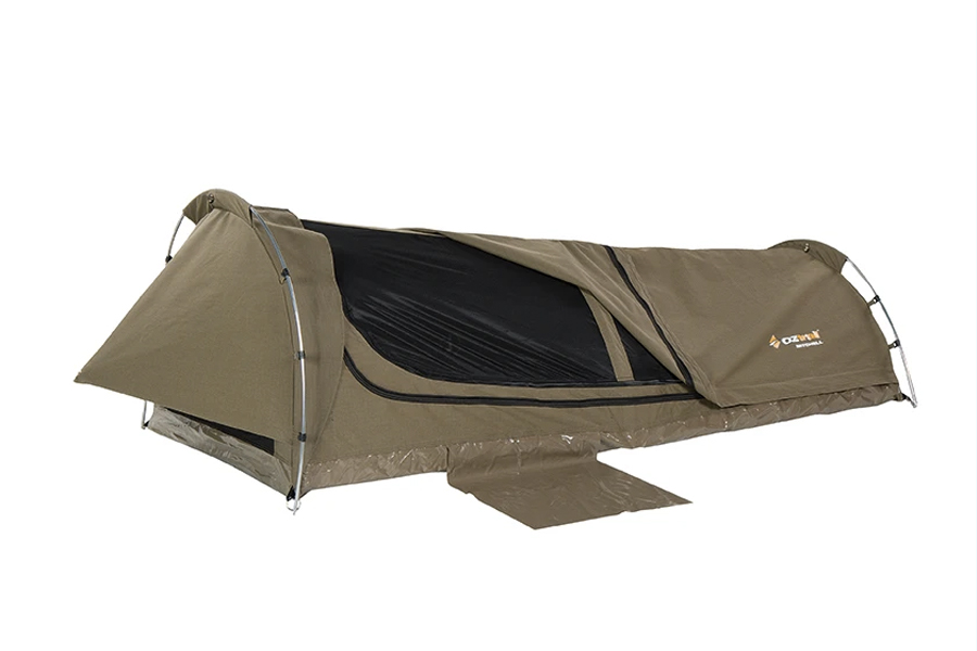 best swag tent for camping - MITCHELL DISCOVERY KING SINGLE SWAG