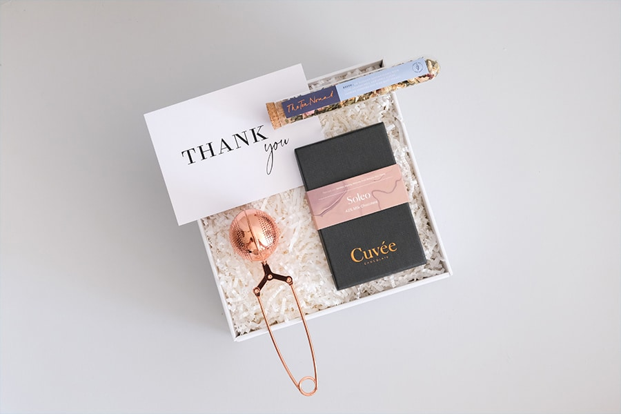 feel-good friday - luxury git box
