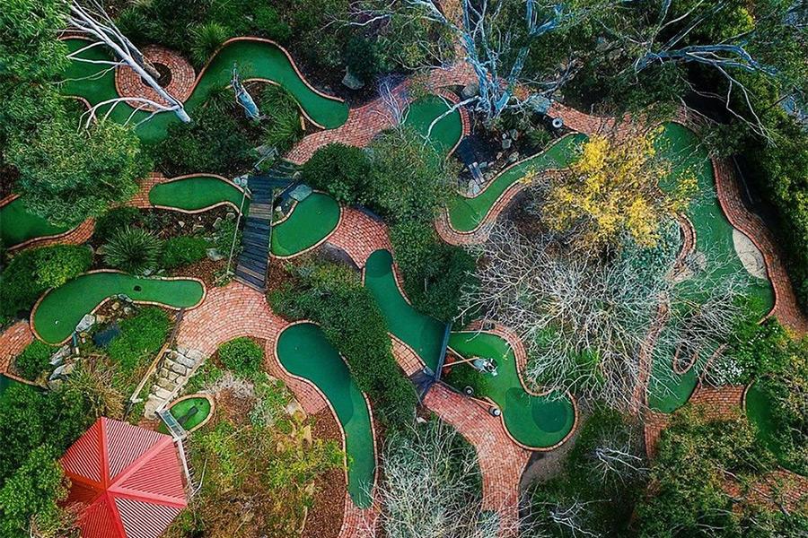 Bellarine Adventure Golf Course Mini Golf Putt Putt Courses Melbourne