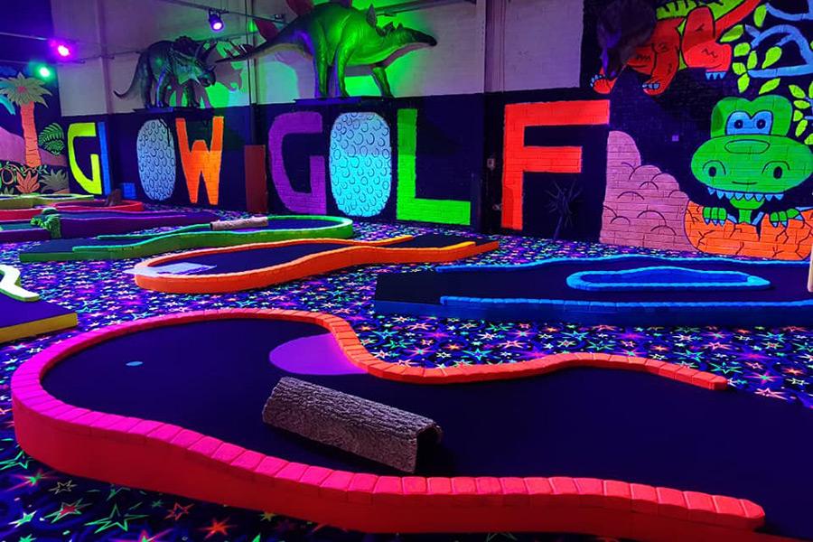 GlowGolf Mini Golf Putt Putt Courses Melbourne