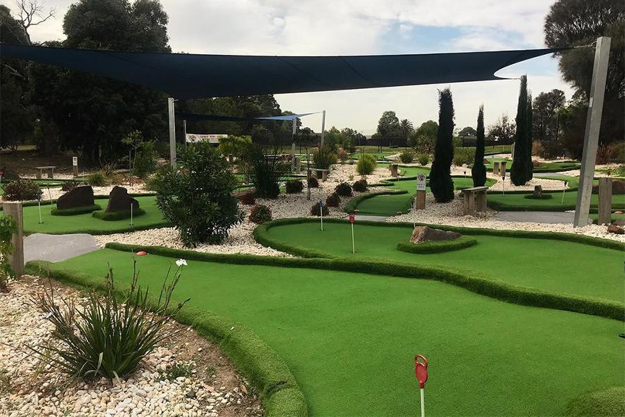 Sandy Mini Golf Mini Golf Putt Putt Courses Melbourne