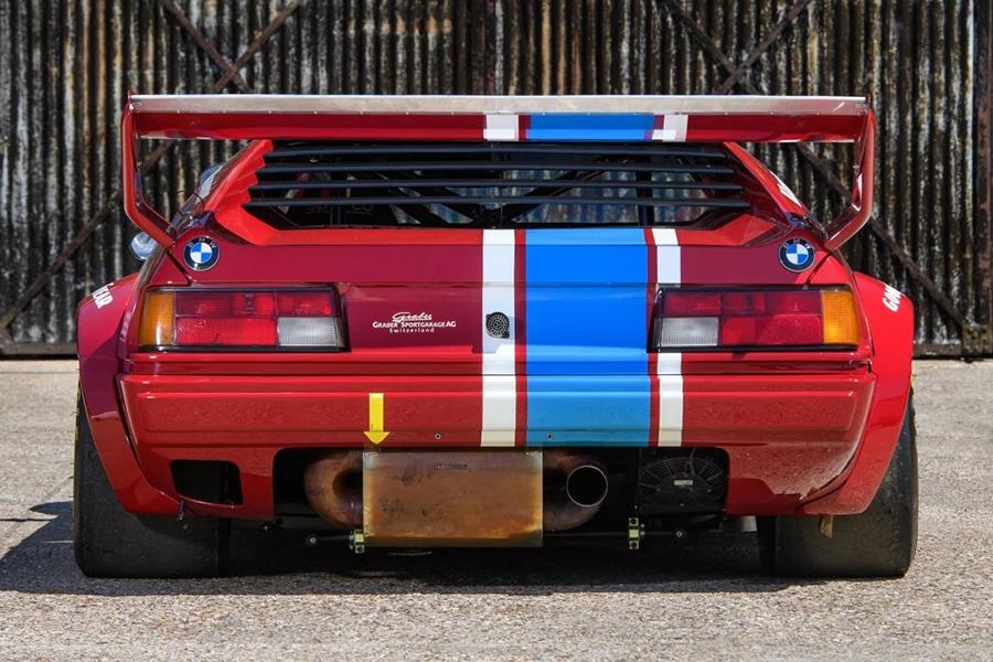 1980 BMW M1 Procar back view