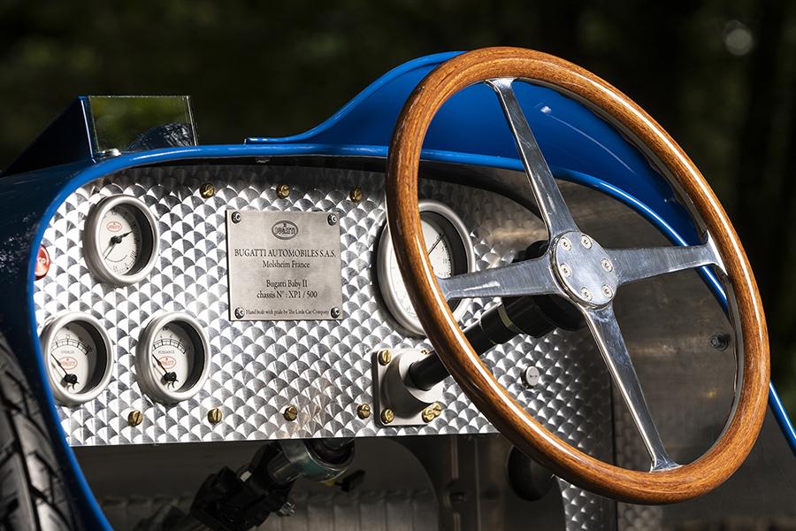 $48k Bugatti Toy Car steering wheel