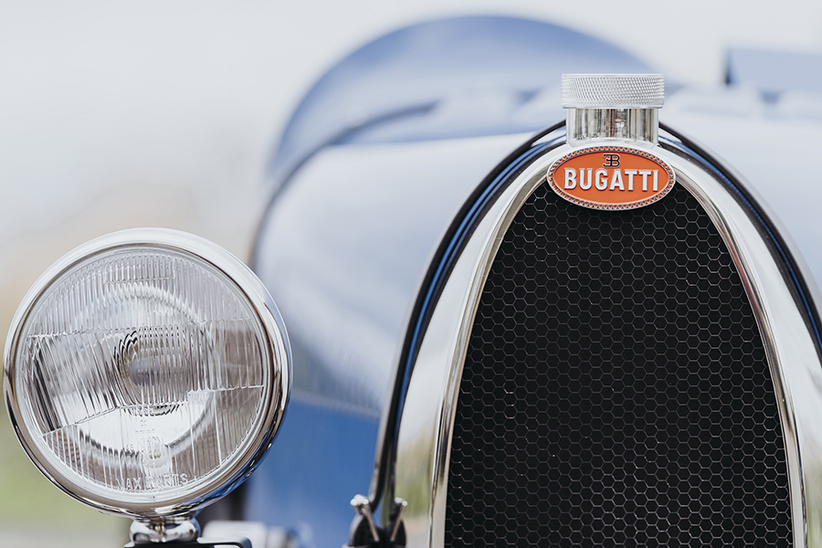 $48k Bugatti Toy Car headlight