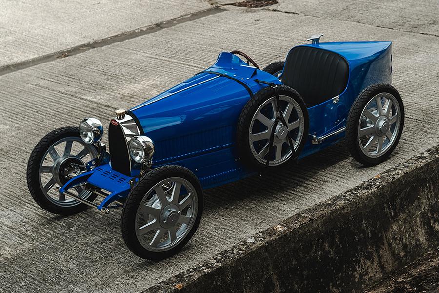 $48k Bugatti Toy Car side view