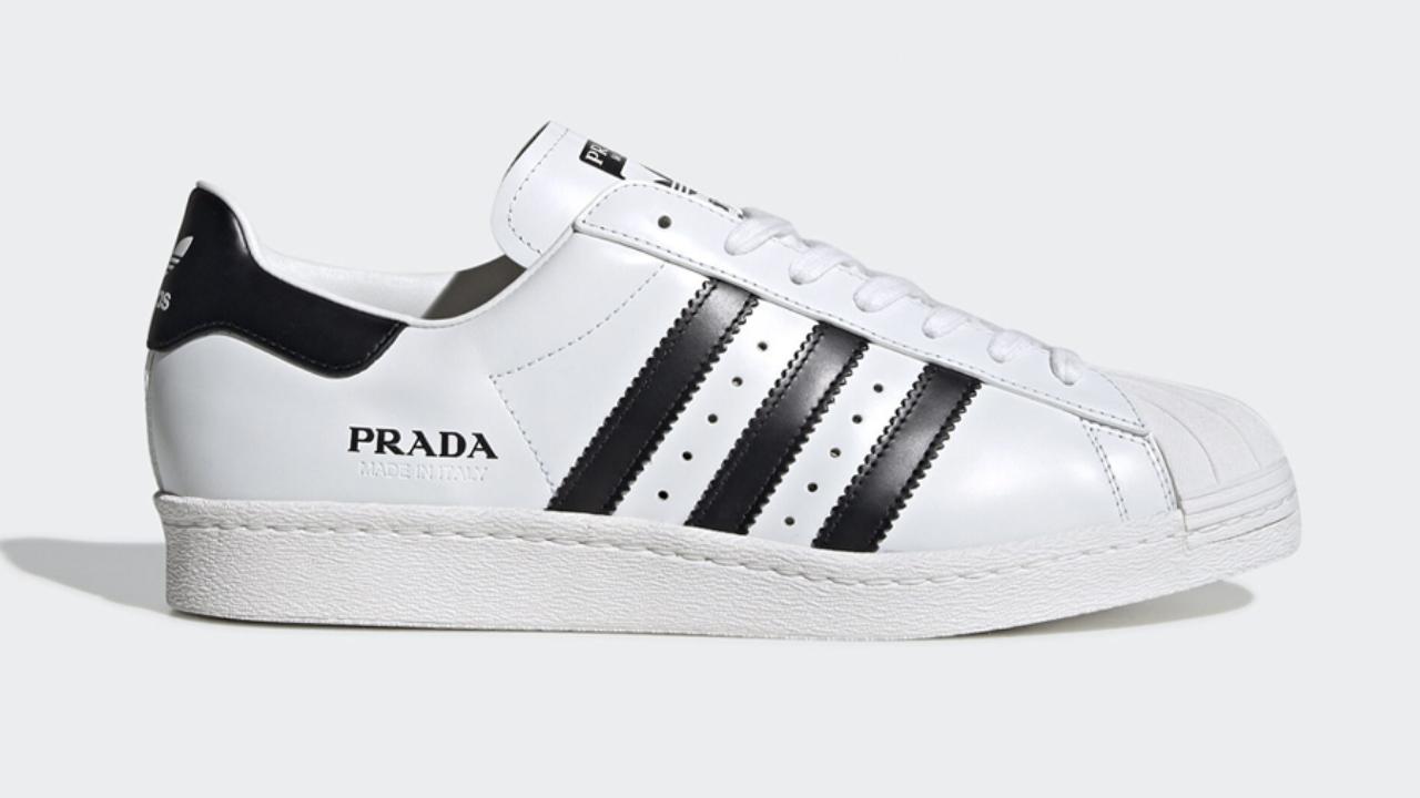 Prada For Adidas Superstar Sneakers