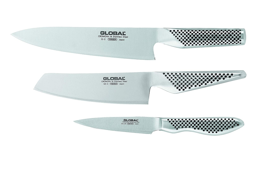 Global G-2538 Classic Kitchen Knife Set