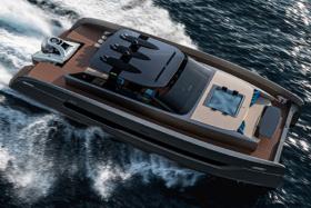 Aquanaut Yacht top view