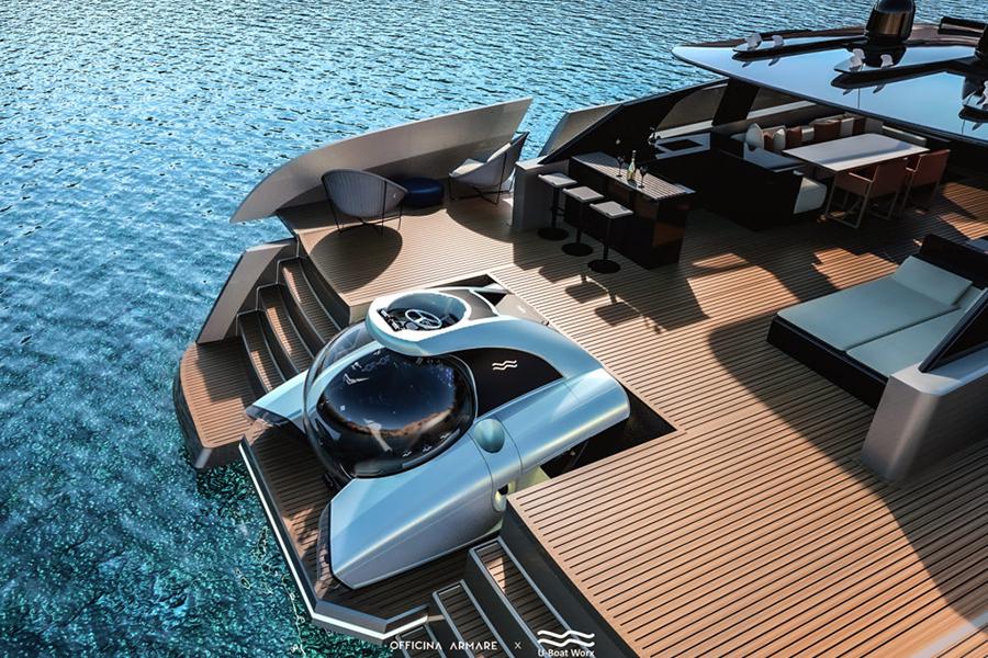 Aquanaut Yacht deck view