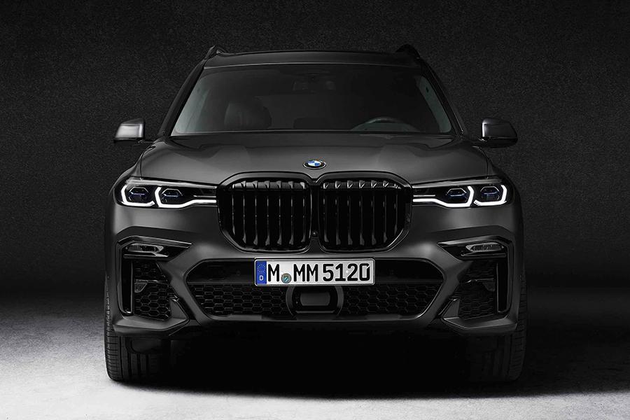 BMW X7 Dark Shadow front