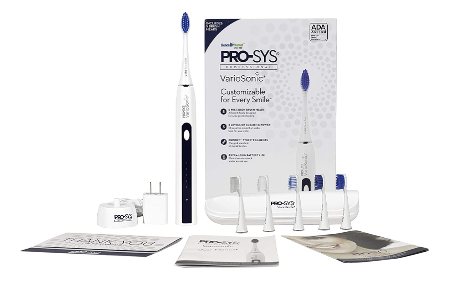 Best Electric Toothbrush - PRO-SYS VarioSonic Electric Toothbrush