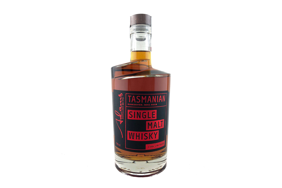 Best Whiskies 2020 - Adams Distillery Tasmanian Single Malt Whisky Cask Strength