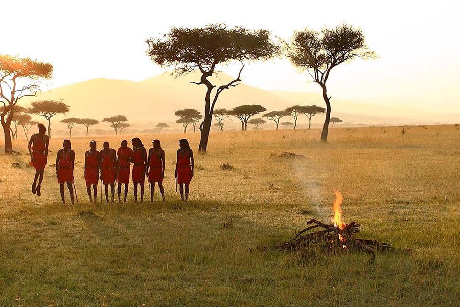 &Beyond Connect Virtual Safaris ritual dance