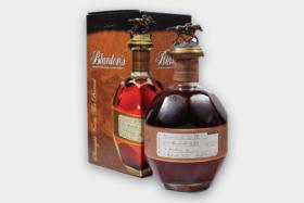 A bottle and box of Blanton's Original Single Barrel Bourbon Whiskey