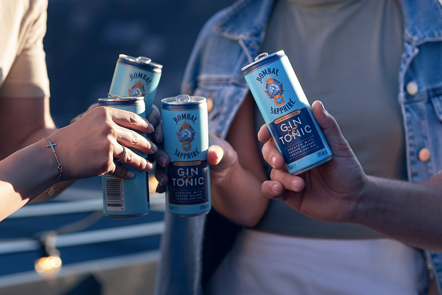 Brace Yourselves, Bombay Sapphire Has Launched a Double-Serve G&T Can | Man of Many