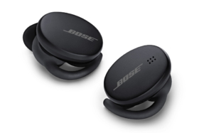 bose earbuds in black