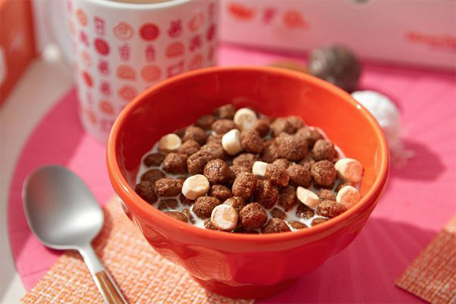 Dunkin Donuts Cereal in bowl