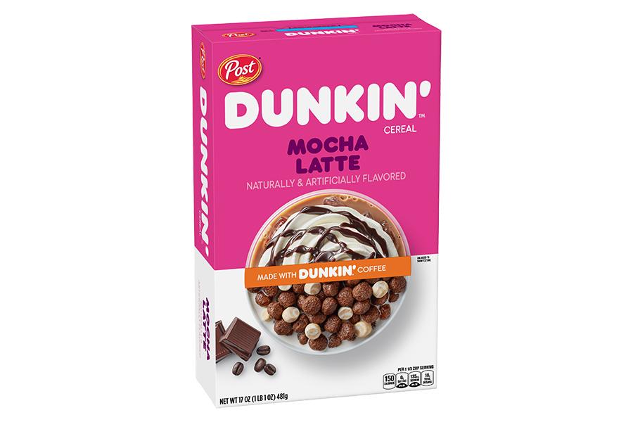 Dunkin Donuts Cereal mocha latte
