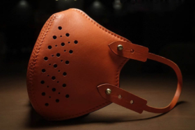 Fino Leather Face Mask side