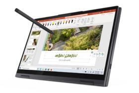 Five New Lenovo Yoga Laptops with pen