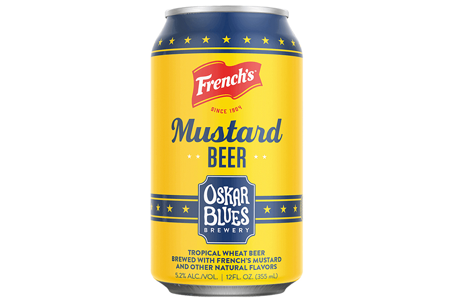 Frenchs Mustard Beer in can